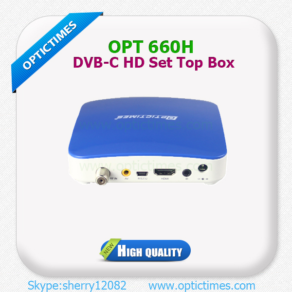 1080P MPEG2 and MPEG H.264 HD Cable Set Top BOX Price