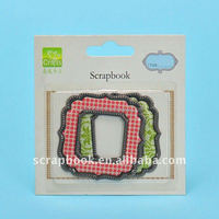 lovely photo frames for scrapbooking/picture frame moulding