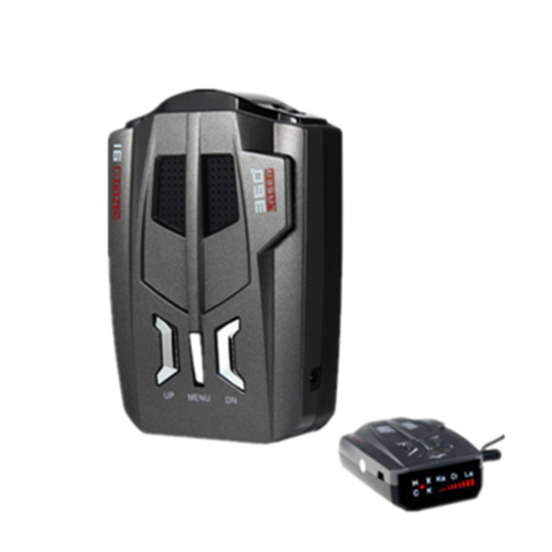 Car Radar Detector V9 with X K KA Brand 360 Degree Laser LED Display Warning Voice