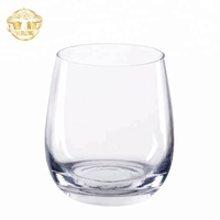 Wholesale hand blown Stemless glass tumbler/drinking glass cup/wine glasses