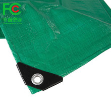 Fengcheng plastic supply Blue Reinforced Plastic Eyelets Tarpaulins for Trucks