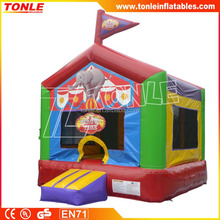 giant Circus Time Inflatable Bouncer/ Bounce house/jumping bouncy castle with factory price
