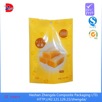 food bag with your logo design, plastic food packaging bag