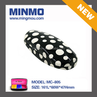 white dots case glasses, suitable for sunglasses frame glasses cloth case, durable clamshell glasses case