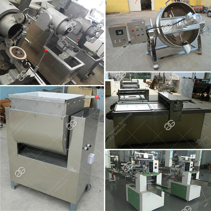 Manufacturer Price Automatic Groundnut Brittle Muslim Cereal Granola Bar Making Machine/Production Line