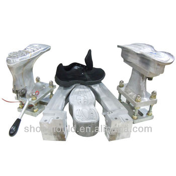 Fashion PVC Shoe Mold Fitted for Shoe Making Machine for Making Men PVC SHOE PVC DIP Shoe Mould