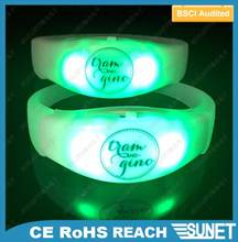 wedding souvenirs high quality colorful wrist bands silicone glow