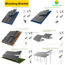free shipping off grid 5kw solar panel mounting system