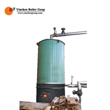 High temperature vertical tube hand feeding working simple vertical biomass fired thermal oil boilers for particle baord