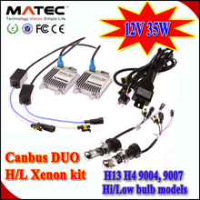 Promotion NOW!! MATEC canbus duo hid xenon kit 35w 55w high quality to solve most car problems