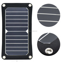 low price mini solar panle 6v 6w with USB output phone charger