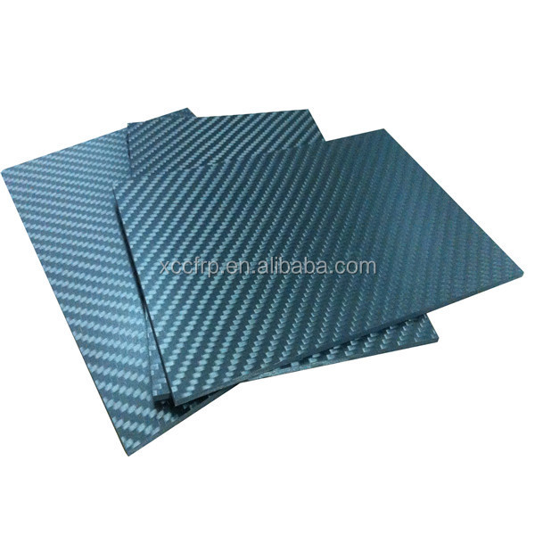 Hot sale 3K prepreg carbon fibre reinforced panel/board 5mm 6mm 7mm 8mm