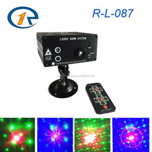 New mini RGB 48 Patterns Laser Light DJ Lighting Projector Disco Stage Xmas Party Show Club