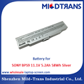 Top Rechargeable Laptop Battery Supplier for SONY BPS9 11.1V 5.2Ah 58Wh Sliver