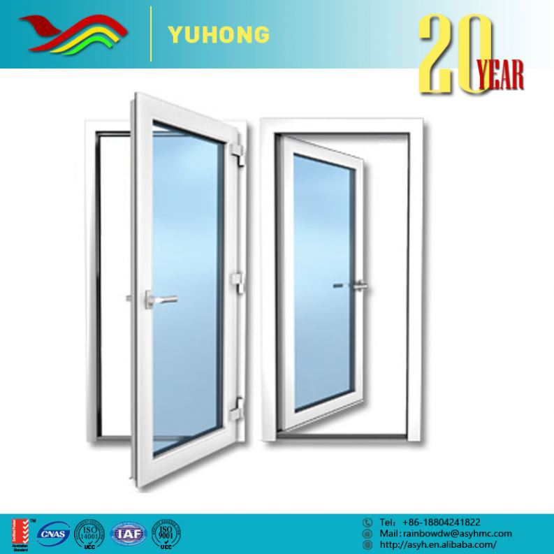 Double Office Single Swing Glass Door Half Doors
