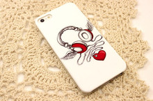 Unique design mobile phone pc case for iphone 5/5S with IMD craft