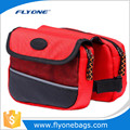 Frame double bicycle bag for outdoor sports with polyester