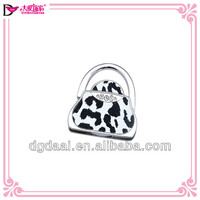 2014 hot purse hook custom logo handbag holder foldable metal bag holder alibaba China