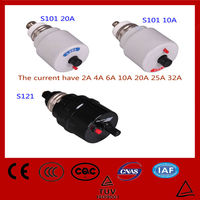 2-32amp E27 S101 fuse automatic screw type circuit breaker with CE rosh