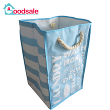 Multi pattern collapsible laundry basket washable laundry hamper for household