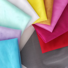 mosquito net fabric /100% polyester hexagonal mesh fabric /many colors in stock