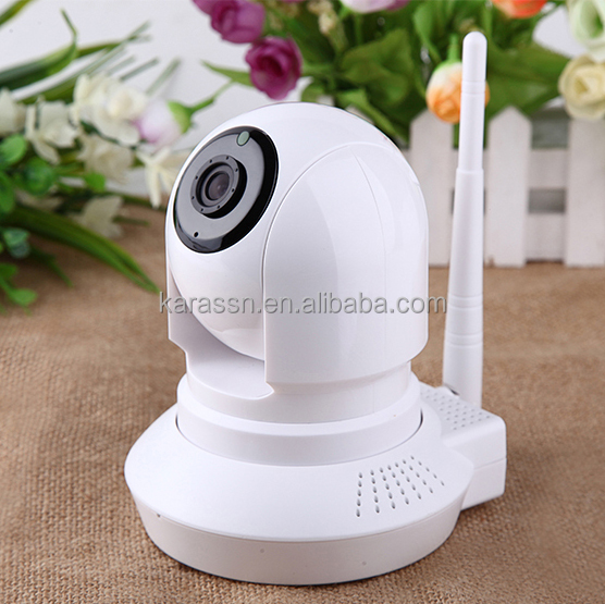 Wireless IP Camera C8131 Mini PTZ Home Indoor Smart Security Alarm System 720P HD Video Android/iOS/PC CMS