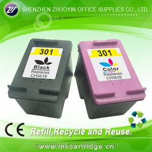 refill ink cartridge 301 new ink cartridge for hp