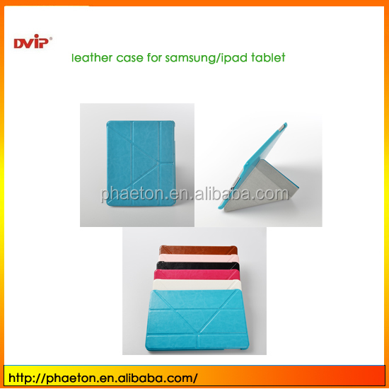 sublimation leather cases for iPad 5 sublimation bags