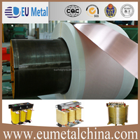 Products made of copper in copper sheets for transformers reactors filters and mutual inductors winding with reasonable price