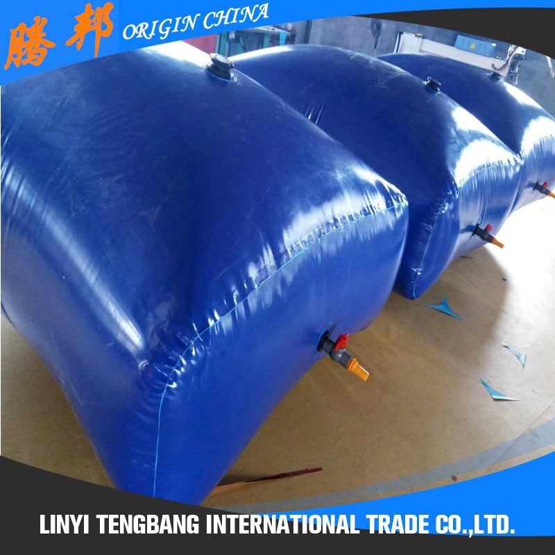 custom size portable tpu inflatable fuel bladder tank 1000liter