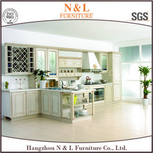 Produce modern shaker style kitchen cabinets with high waterproof kitchen pantry kitchen design philippines
