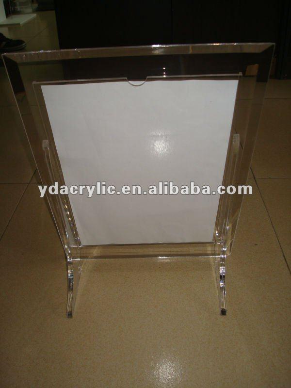 Transparente acrílico marcos para fotos / diseño especial foto del ...