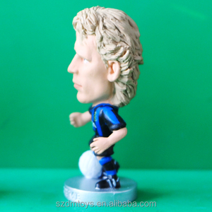 pvc cartoon soccer player messi action figure factory for sale
