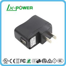 Wall mount single usb output charger adapter dc 4.2v 1a for air humidificateur