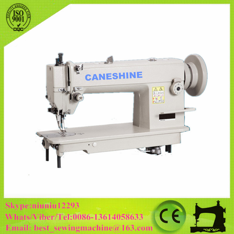 Top and Bottom Feed Walking Foot Sewing Machine for Medium and Heavy Material