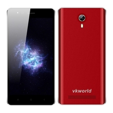 Brand New hot selling Original dropshipping Shenzhen Brand VKworld F1 1GB+8GB Mobile Phone 3G unlocked 2G cell smartphone Red