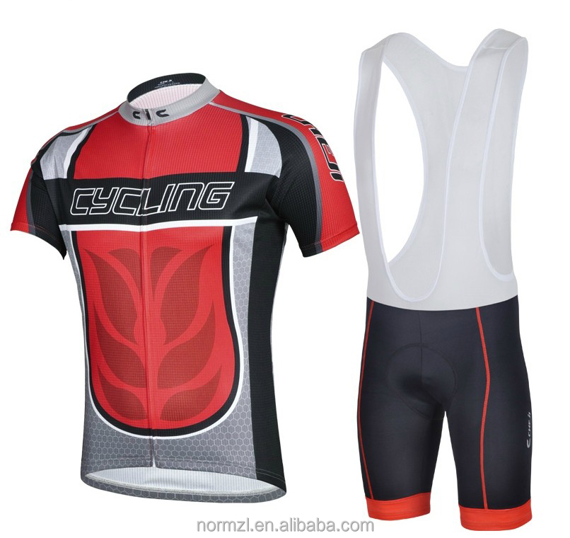 Cycling jersey red short sleeve Thermal cycling clothes sports jerseys cool cycling