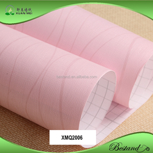 Simple Pink color self-adhesive vinyl wallpaper stripe wallpaper for househoud/hotel/indoor decoration