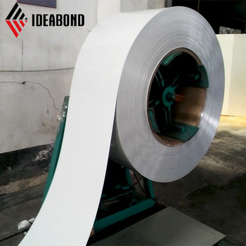 High gloss color coated aluminium coil for used for building decoration