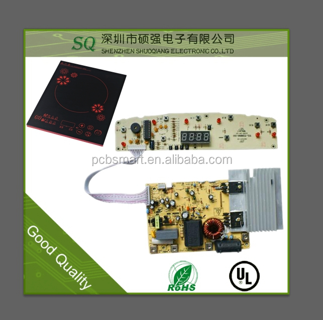 Induction cooker pcb Appliances PCB assembly FR4 Printed circuit board