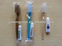 2013 disposable cheap toothpaste and toothbrush hotel