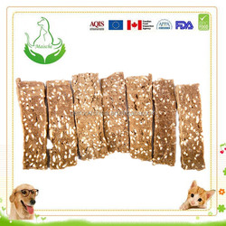 delicious lamb and rice dry pet snack treats for dogs
