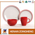 Modern dinner set made in china crockery dinnerware sets