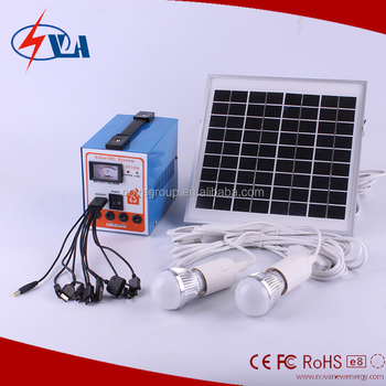 Portable Solar kits 6w wind solar hybrid power system