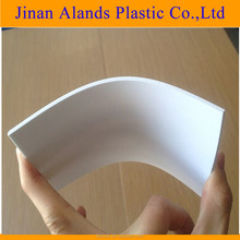 white PVC foam board, PVC hard surface foam sheet for printing and cutting