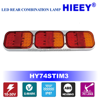 LED Trailer Light with combination functions , Auto - rucklichter,E-MARK lamp