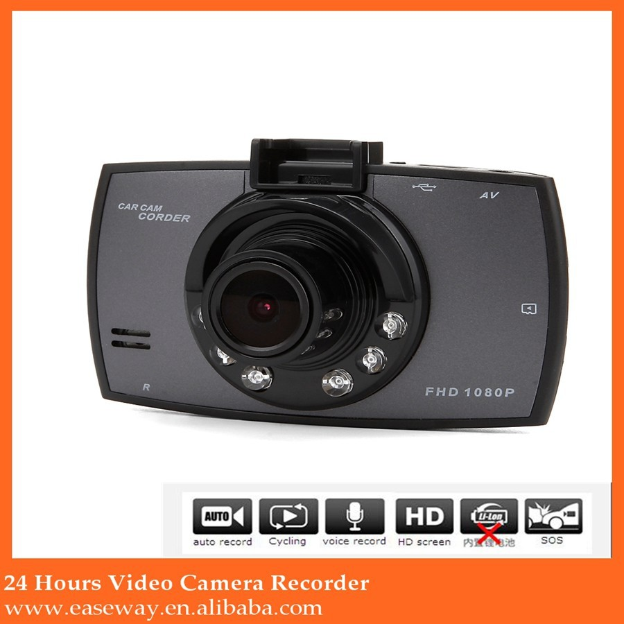 6.1$ cheapest G30 2.7 inch display dashcam , Night vision wide angle Full HD 1080P car dvr
