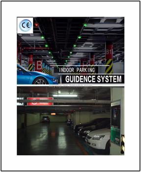 Indoor Wired Ultrasonic Parking Guidance System for Single Space