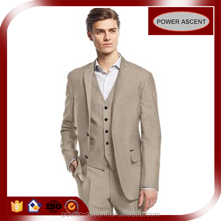 Contemporary Style Apparel Mens 3PCS Fashion Suits