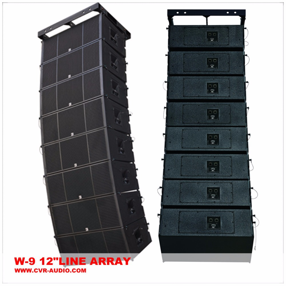 speaker professional + dual 12 loudspeaker line array +China quality audio